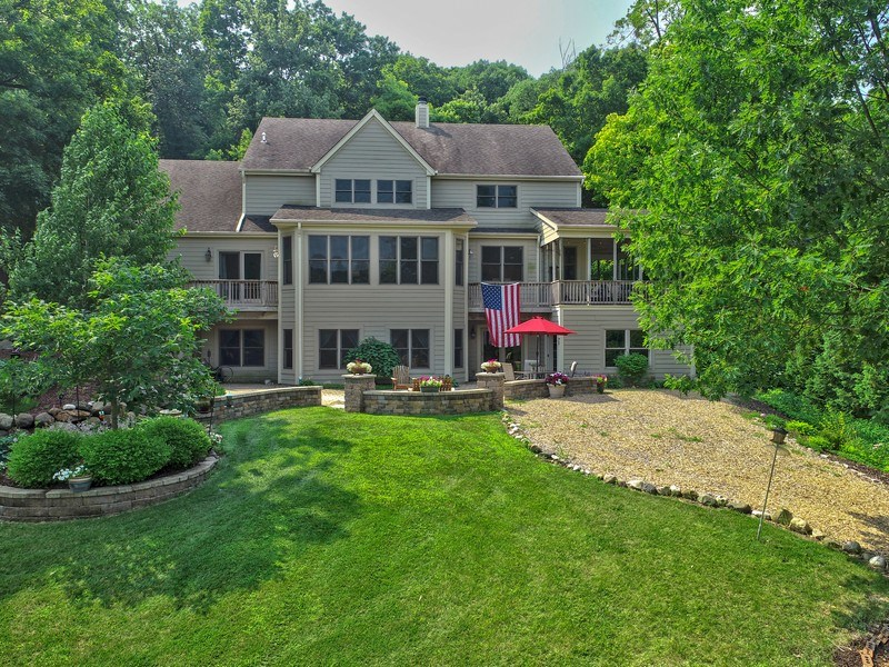 Real Estate Photography - 1511 N. River Road, Algonquin, IL, 60102 - Aerial View