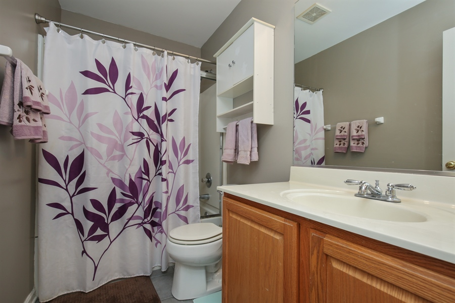 Real Estate Photography - 301 Wedgewood Circle, Lake In The Hills, IL, 60156 - Bathroom