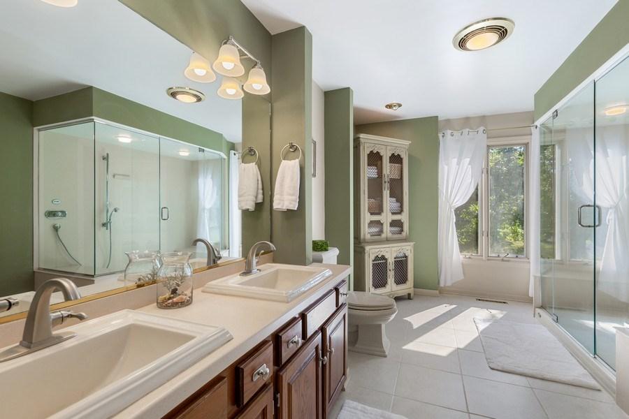 Real Estate Photography - 3703 Live Oak, Crystal Lake, IL, 60014 - Master Bathroom