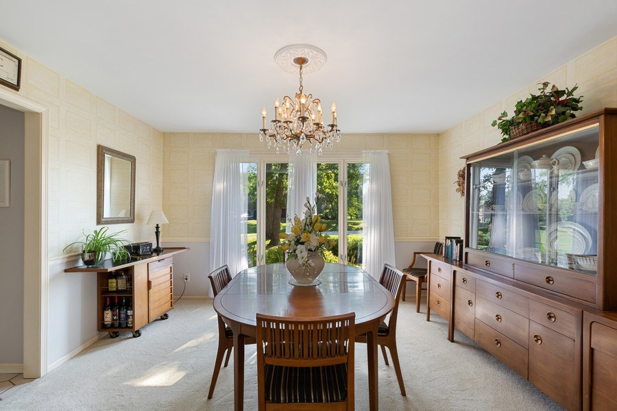 Real Estate Photography - 3703 Live Oak, Crystal Lake, IL, 60014 - Dining Room
