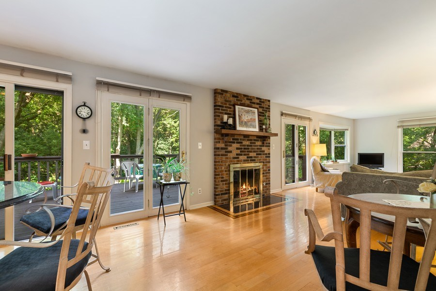 Real Estate Photography - 3703 Live Oak, Crystal Lake, IL, 60014 - Family Room