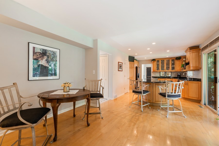 Real Estate Photography - 3703 Live Oak, Crystal Lake, IL, 60014 - Breakfast Area