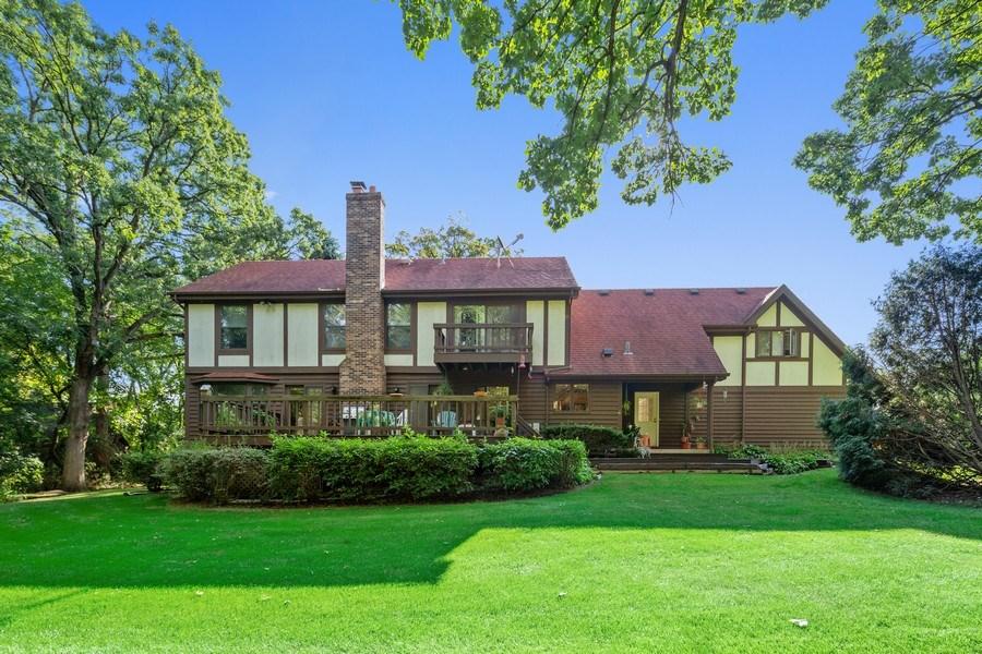 Real Estate Photography - 3703 Live Oak, Crystal Lake, IL, 60014 - Rear View