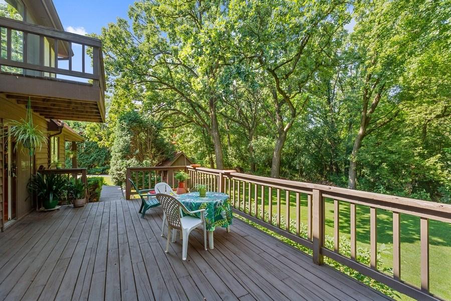 Real Estate Photography - 3703 Live Oak, Crystal Lake, IL, 60014 - Deck