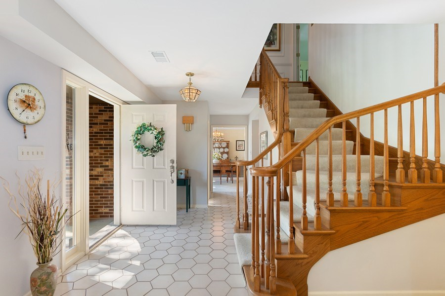 Real Estate Photography - 3703 Live Oak, Crystal Lake, IL, 60014 - Staircase