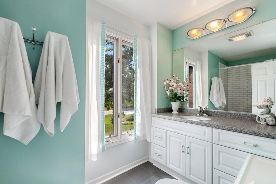 Real Estate Photography - 3703 Live Oak, Crystal Lake, IL, 60014 - 2nd Bathroom