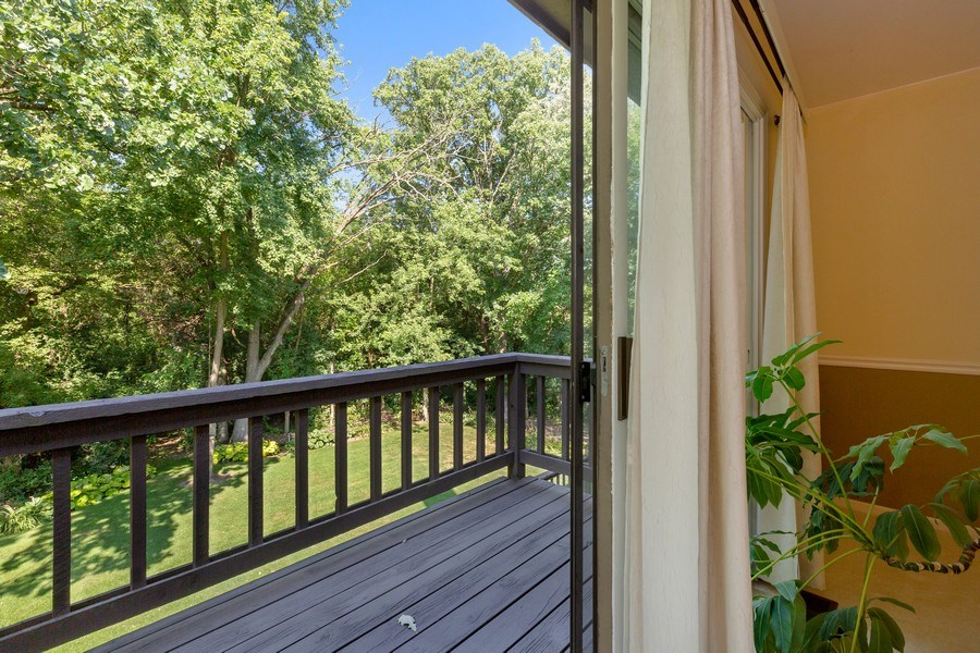 Real Estate Photography - 3703 Live Oak, Crystal Lake, IL, 60014 - Balcony