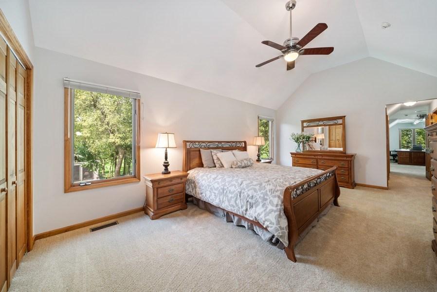 Real Estate Photography - 3887 Tamarack Circle, Crystal Lake, IL, 60012 - Master Bedroom