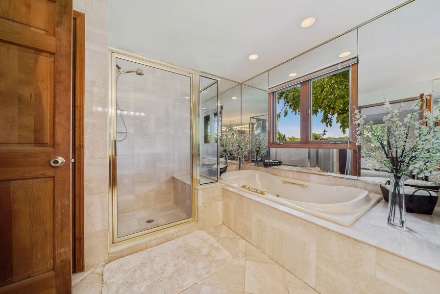 Real Estate Photography - 3887 Tamarack Circle, Crystal Lake, IL, 60012 - Master Bathroom
