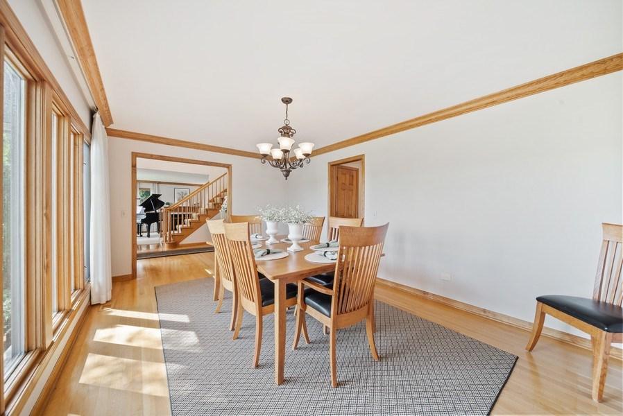 Real Estate Photography - 3887 Tamarack Circle, Crystal Lake, IL, 60012 - Dining Room