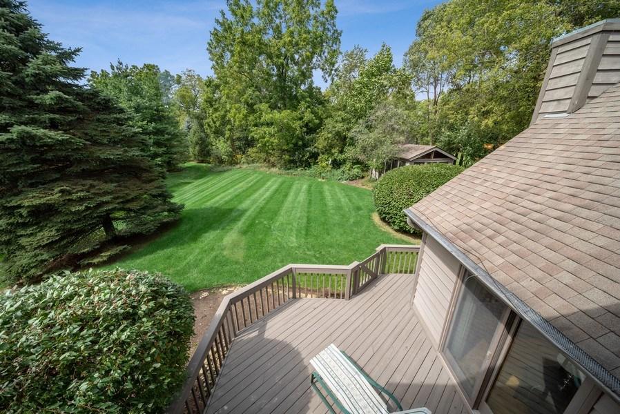 Real Estate Photography - 3887 Tamarack Circle, Crystal Lake, IL, 60012 - Back Yard