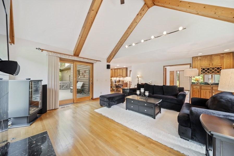 Real Estate Photography - 3887 Tamarack Circle, Crystal Lake, IL, 60012 - Family Room