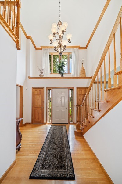 Real Estate Photography - 3887 Tamarack Circle, Crystal Lake, IL, 60012 - Foyer
