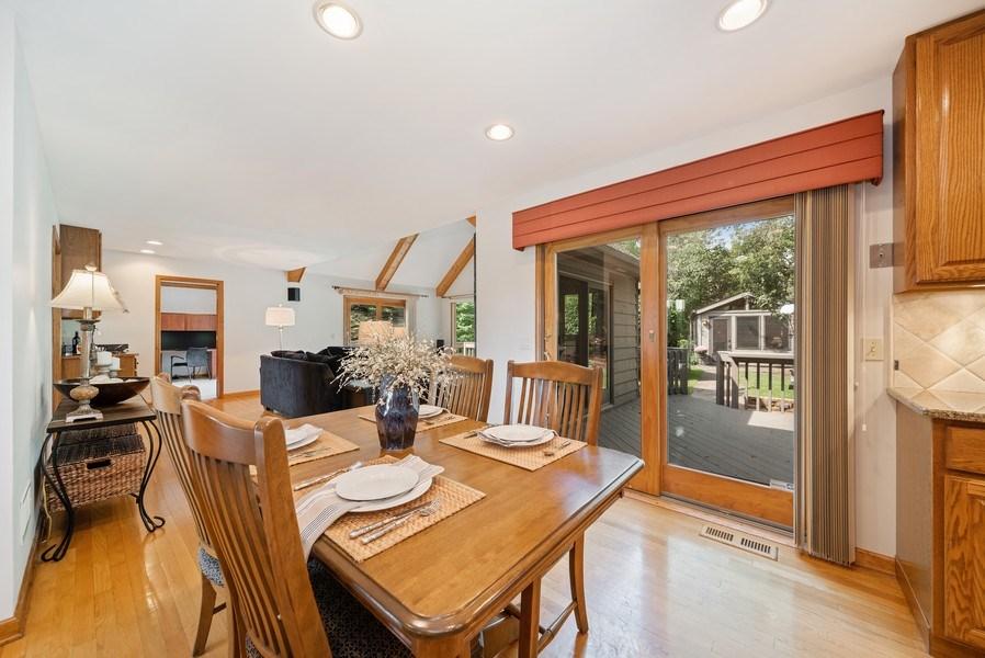 Real Estate Photography - 3887 Tamarack Circle, Crystal Lake, IL, 60012 - Dining Area