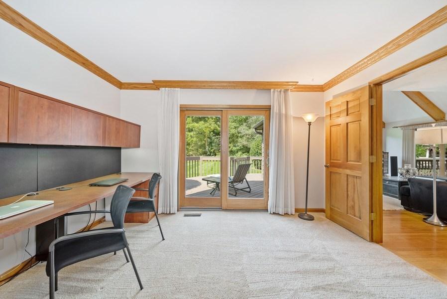 Real Estate Photography - 3887 Tamarack Circle, Crystal Lake, IL, 60012 - Den