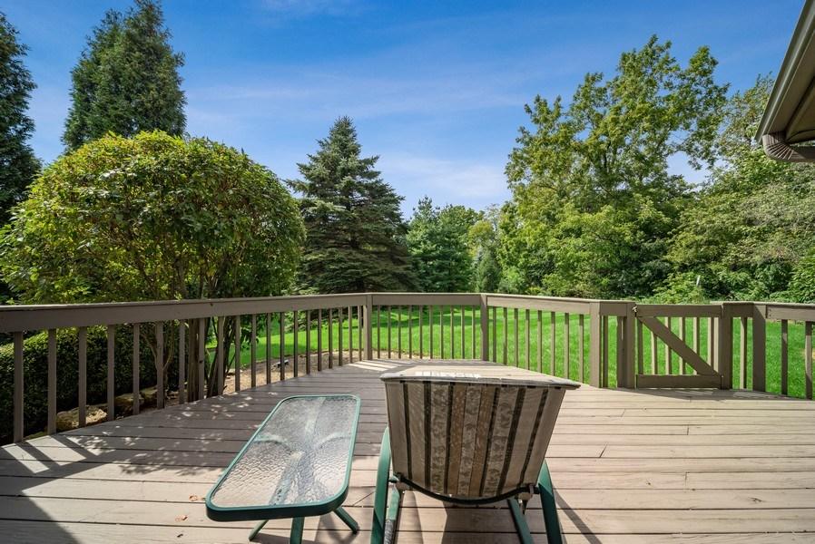 Real Estate Photography - 3887 Tamarack Circle, Crystal Lake, IL, 60012 - Deck