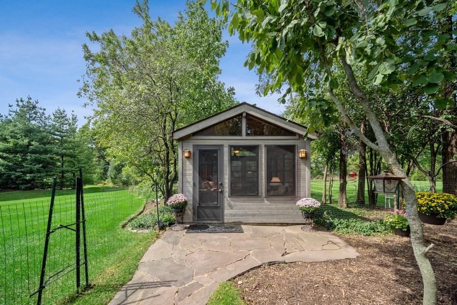 Real Estate Photography - 3887 Tamarack Circle, Crystal Lake, IL, 60012 - Gazebo