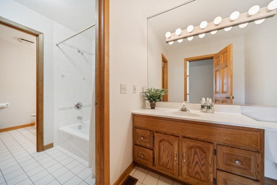 Real Estate Photography - 3887 Tamarack Circle, Crystal Lake, IL, 60012 - Bathroom