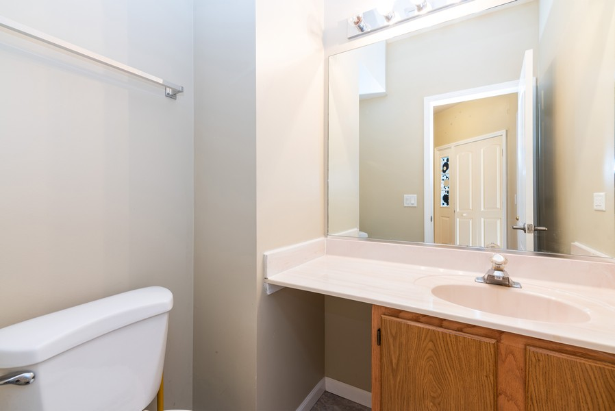 Real Estate Photography - 239 Partridge, Algonquin, IL, 60102 - Powder Room
