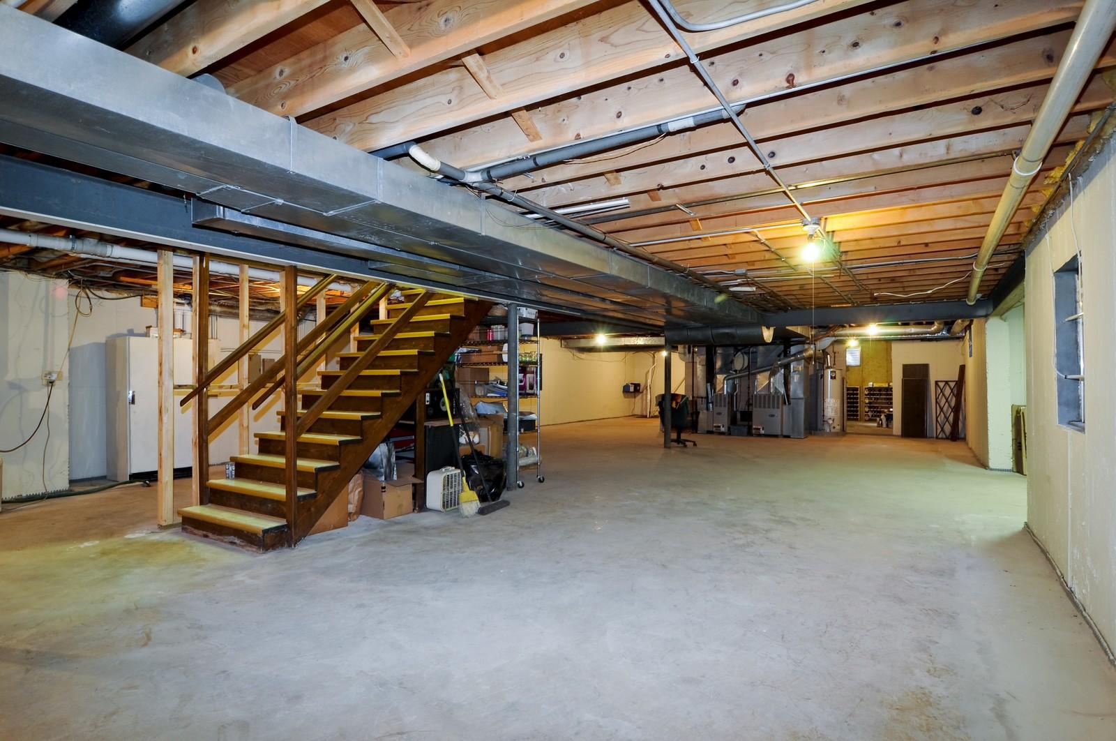 Real Estate Photography - 33 Little Bend, Barrington Hills, IL, 60010 - Basement