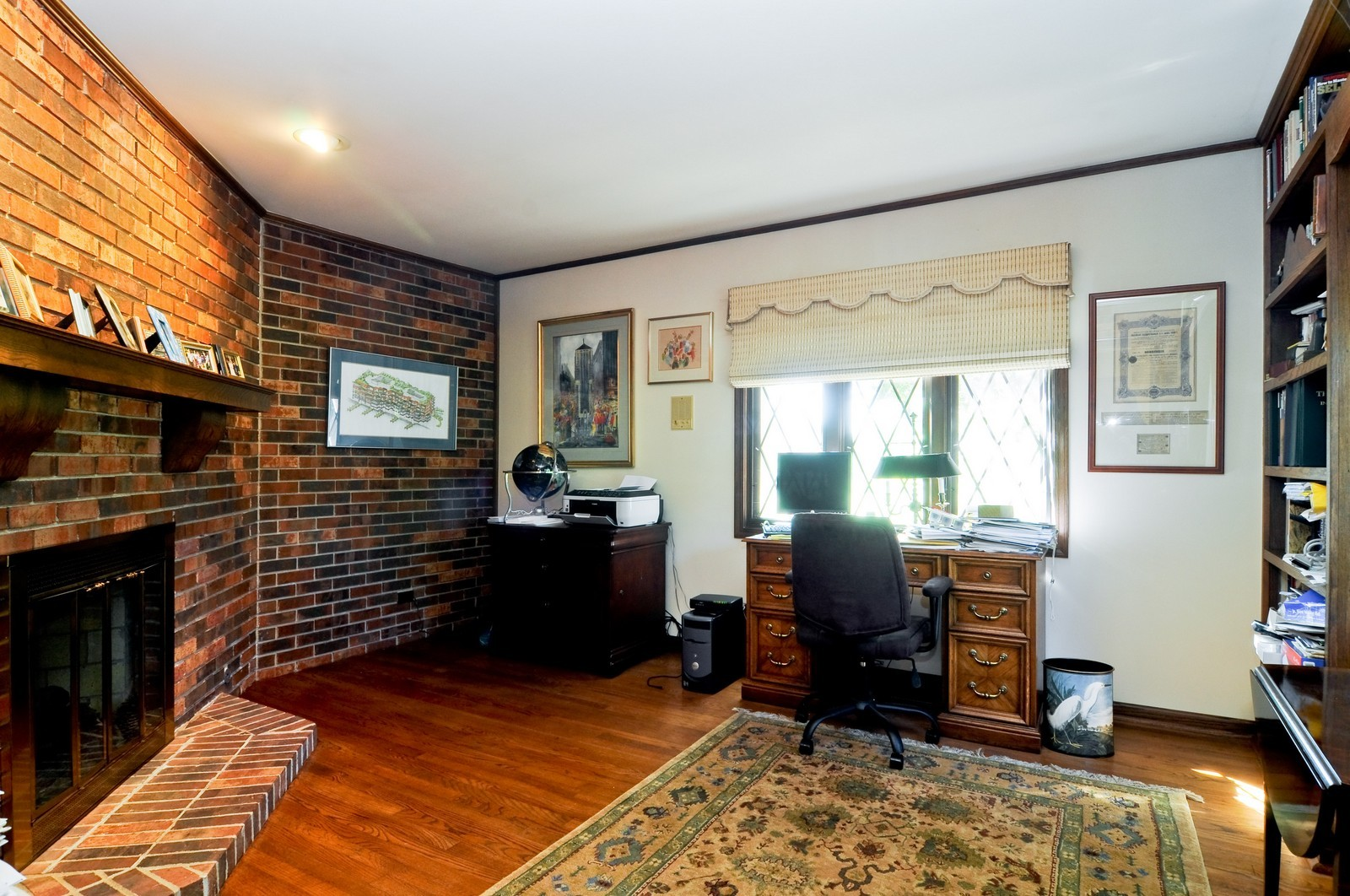 Real Estate Photography - 33 Little Bend, Barrington Hills, IL, 60010 - Office