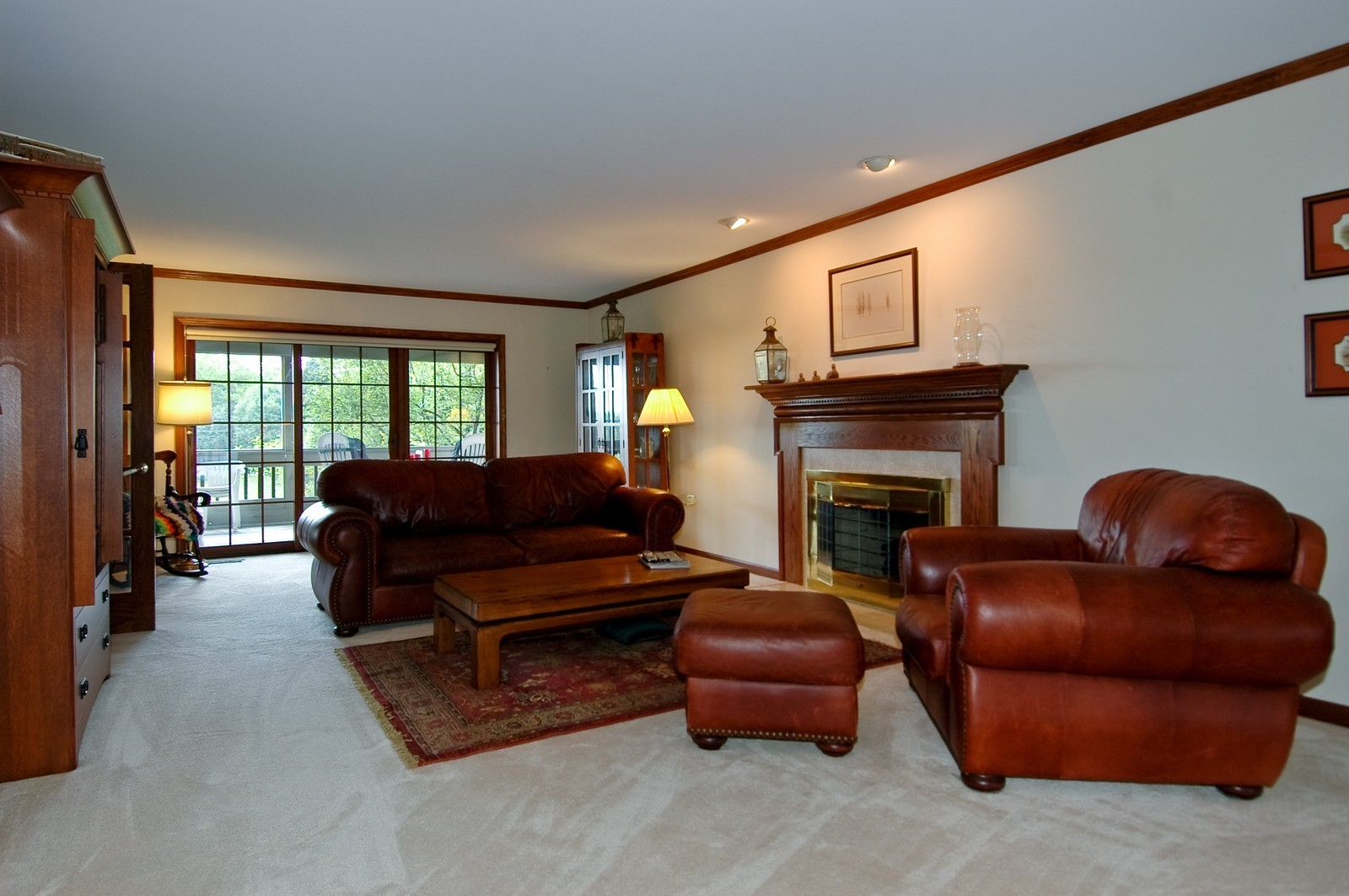 Real Estate Photography - 9409 Loch Glen Court, Lakewood, IL, 60014 - Living Room