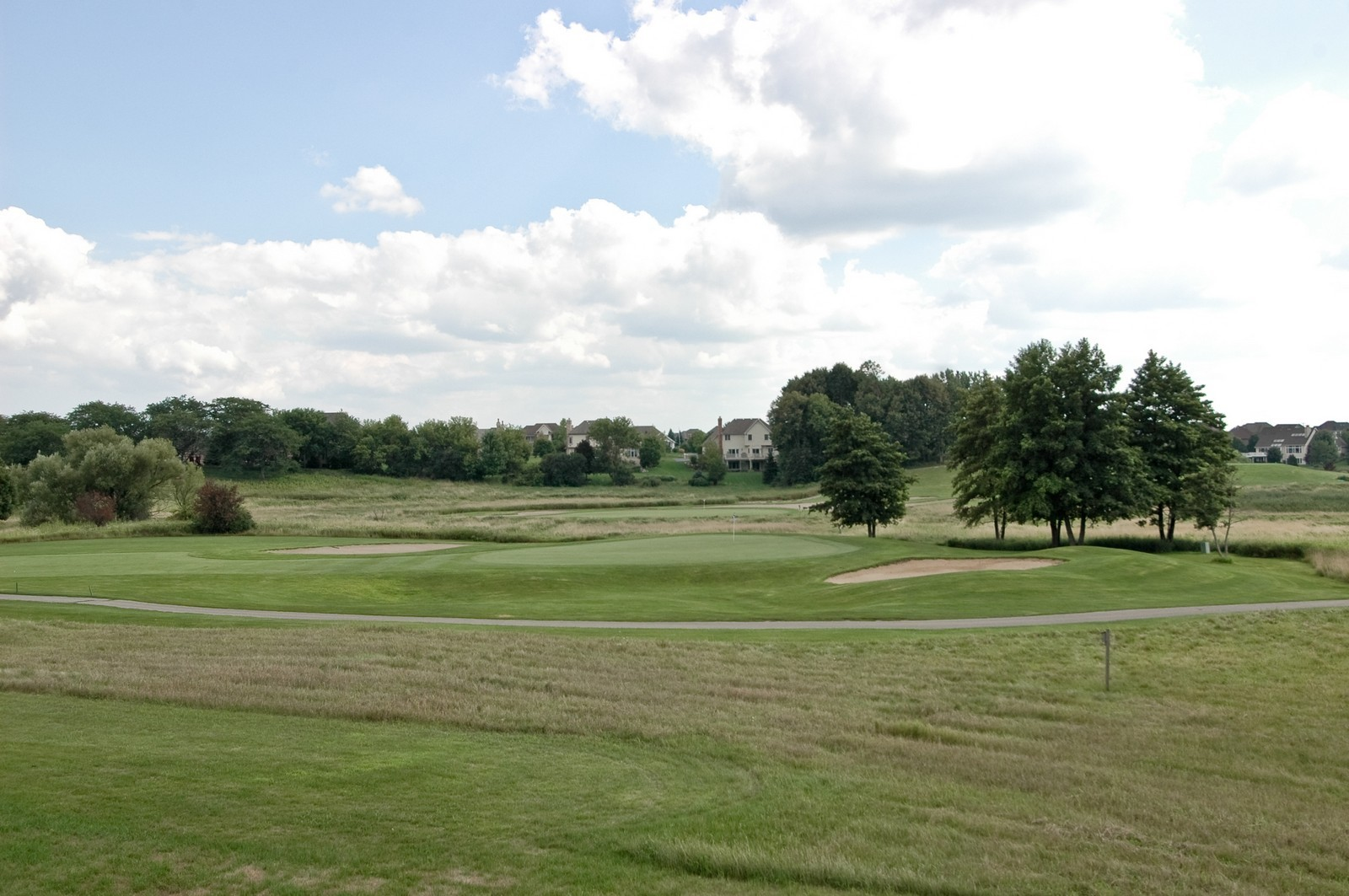 Real Estate Photography - 9409 Loch Glen Court, Lakewood, IL, 60014 - Golf Course