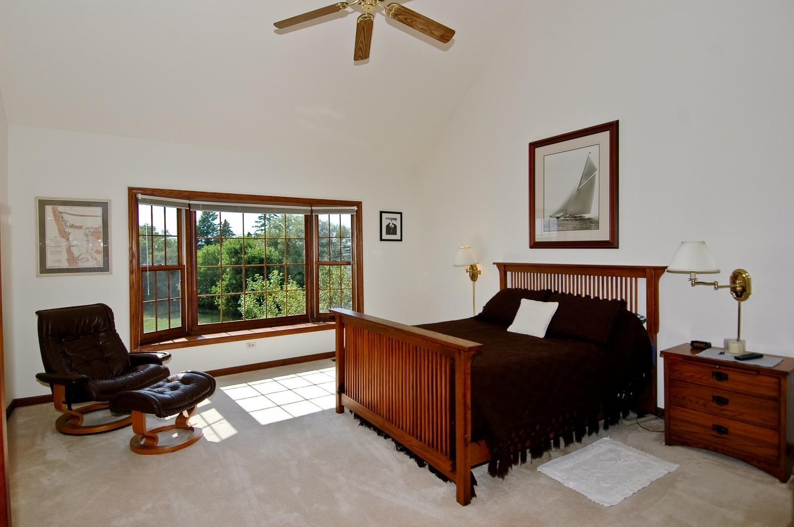Real Estate Photography - 9409 Loch Glen Court, Lakewood, IL, 60014 - Master Bedroom