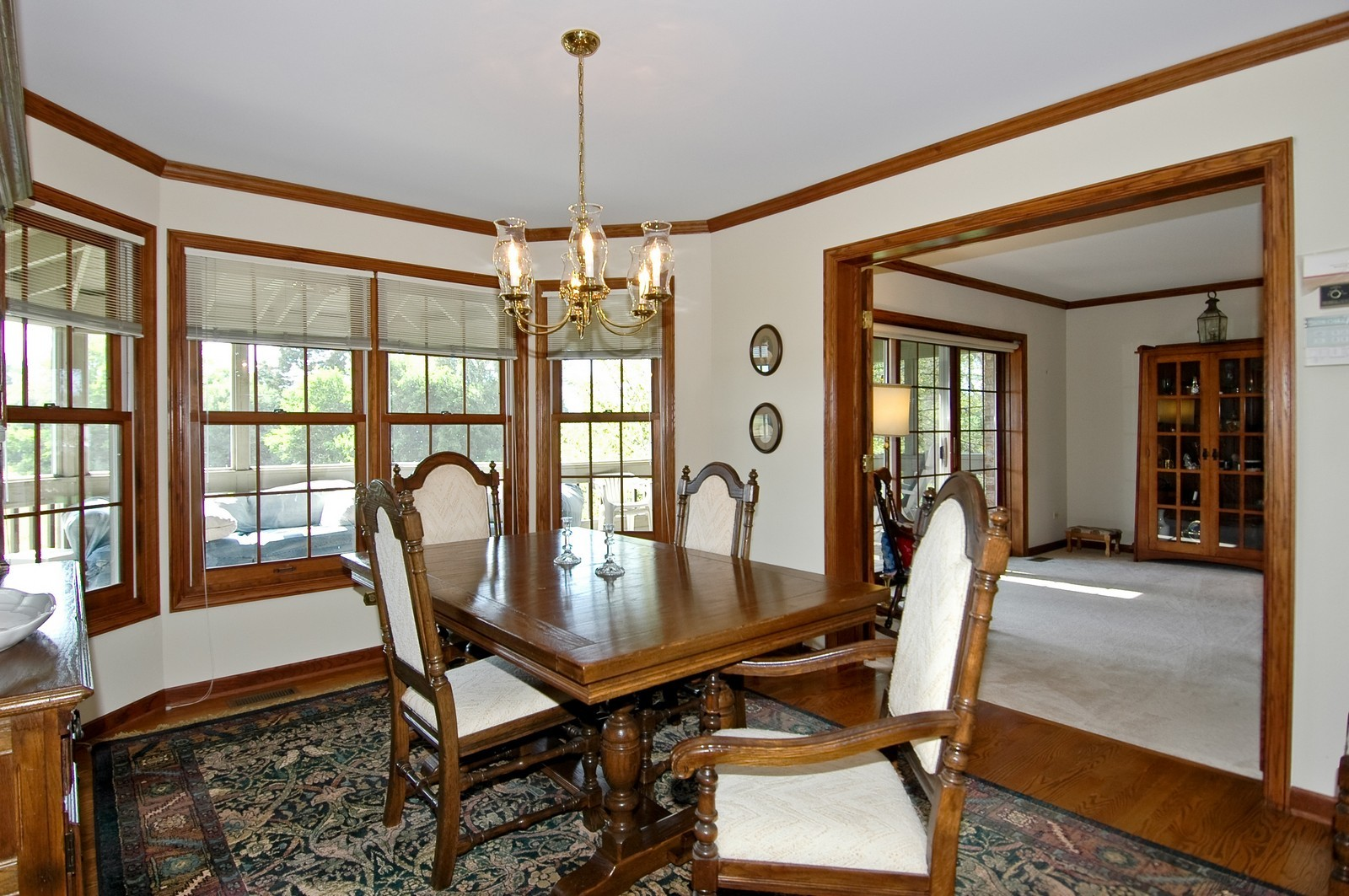 Real Estate Photography - 9409 Loch Glen Court, Lakewood, IL, 60014 - Dining Room