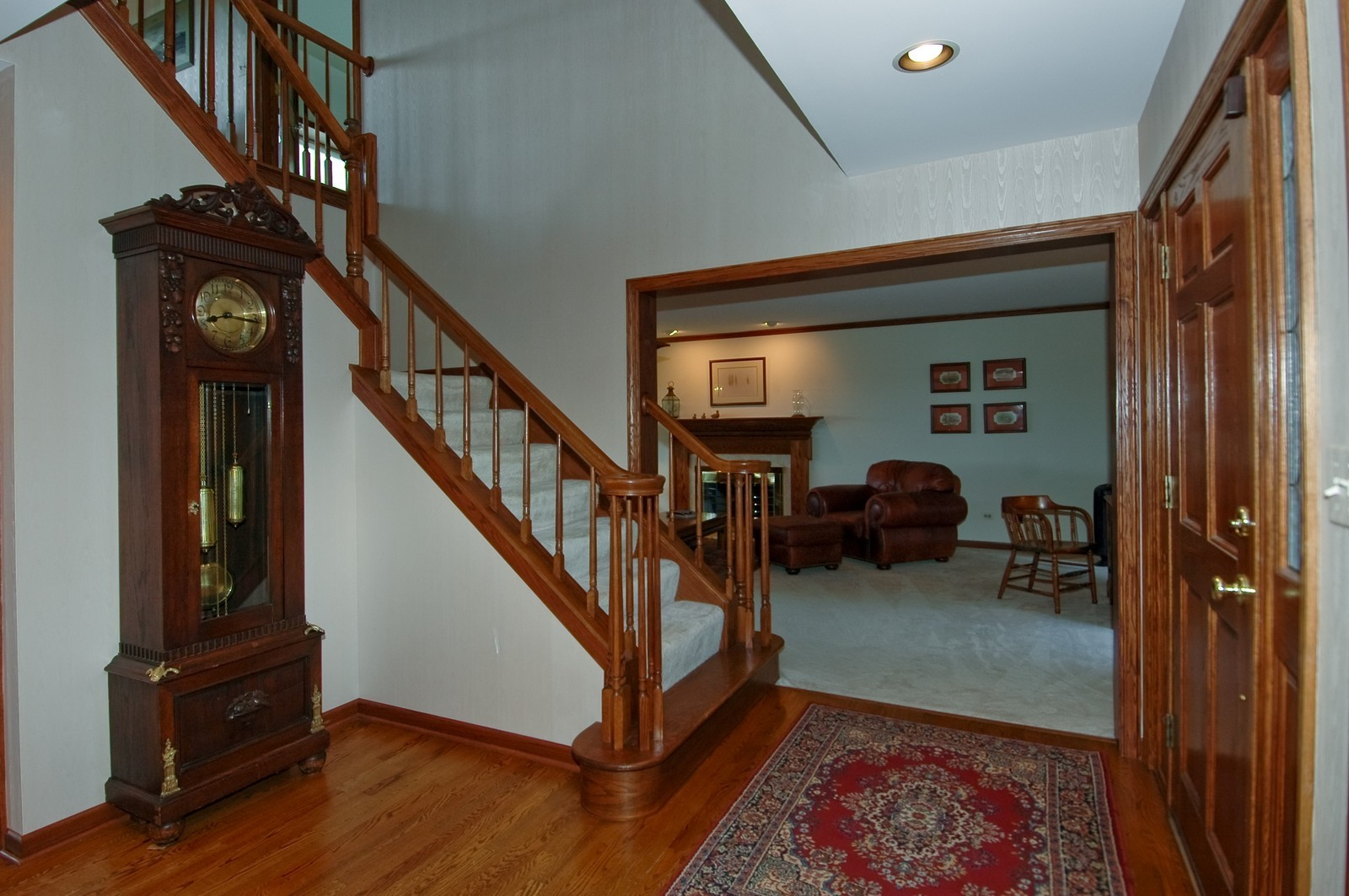 Real Estate Photography - 9409 Loch Glen Court, Lakewood, IL, 60014 - Foyer