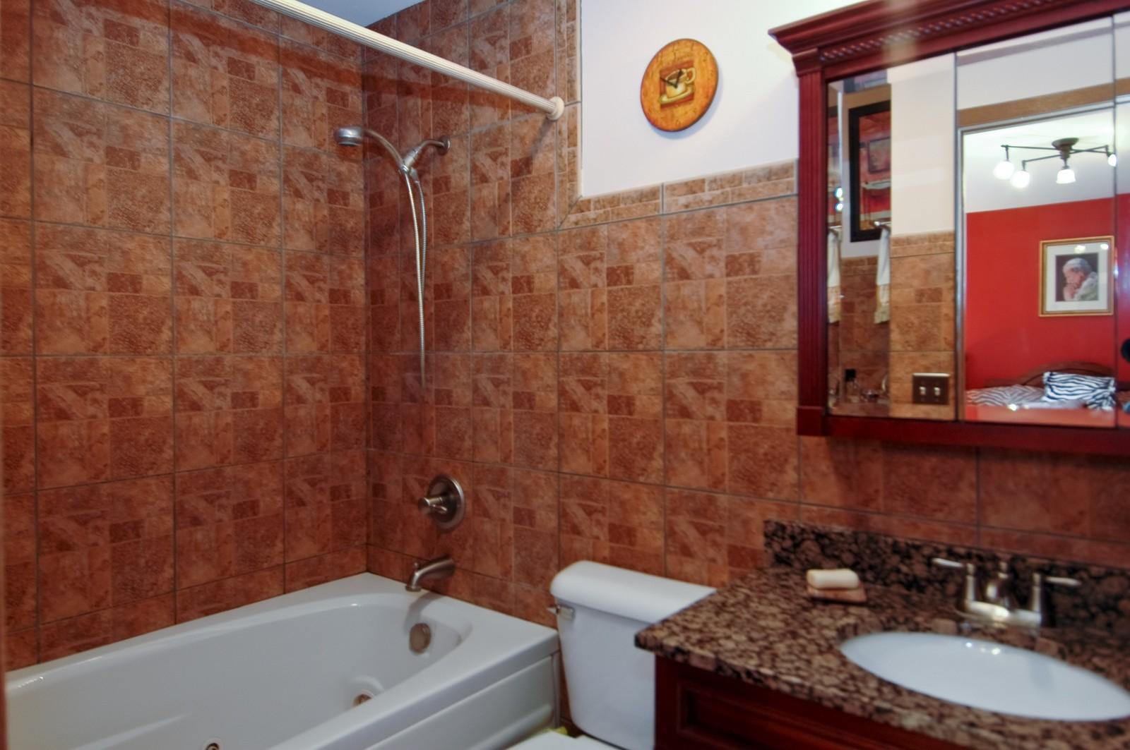 Real Estate Photography - 1364 Thornwood Ln, Crystal Lake, IL, 60014 - Master Bathroom