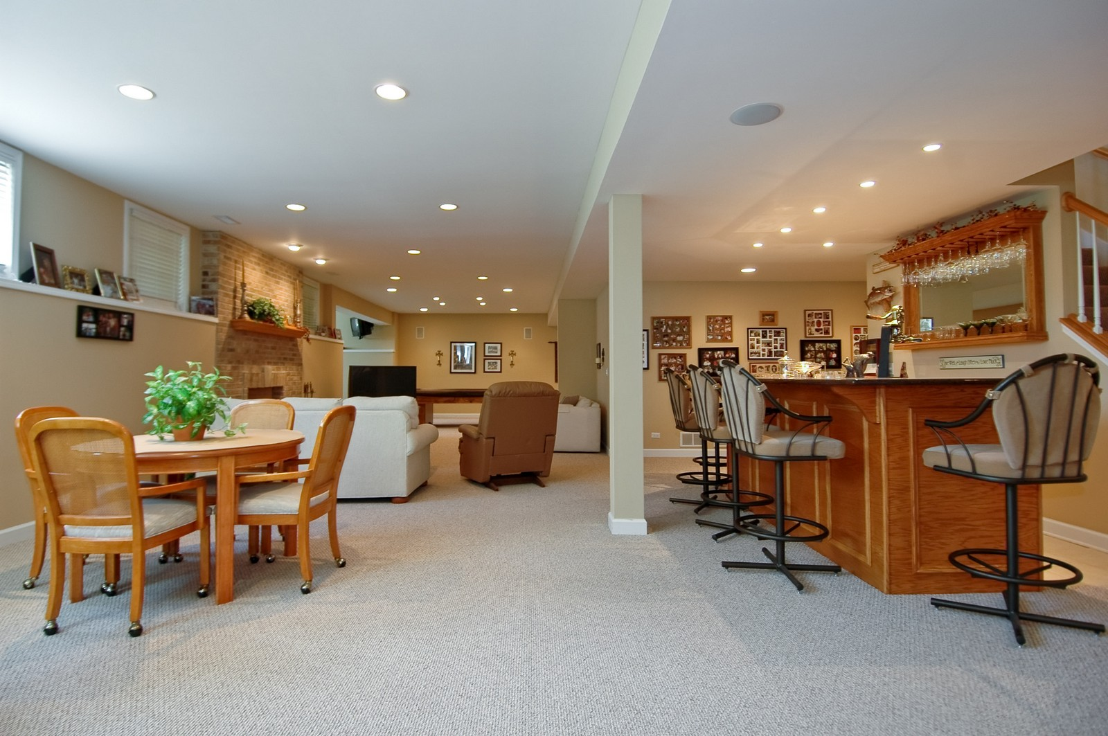 Real Estate Photography - 8719 Shade Tree Circle, Village of Lakewood, IL, 60014 - Lower Level