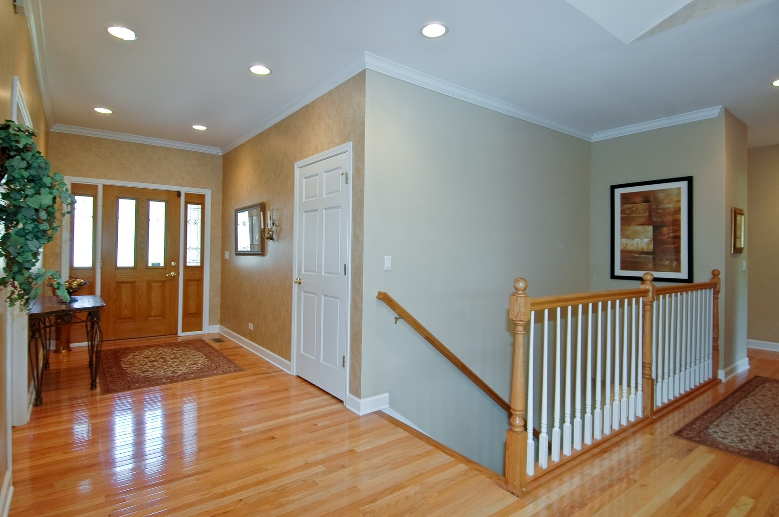 Real Estate Photography - 8719 Shade Tree Circle, Village of Lakewood, IL, 60014 - Foyer