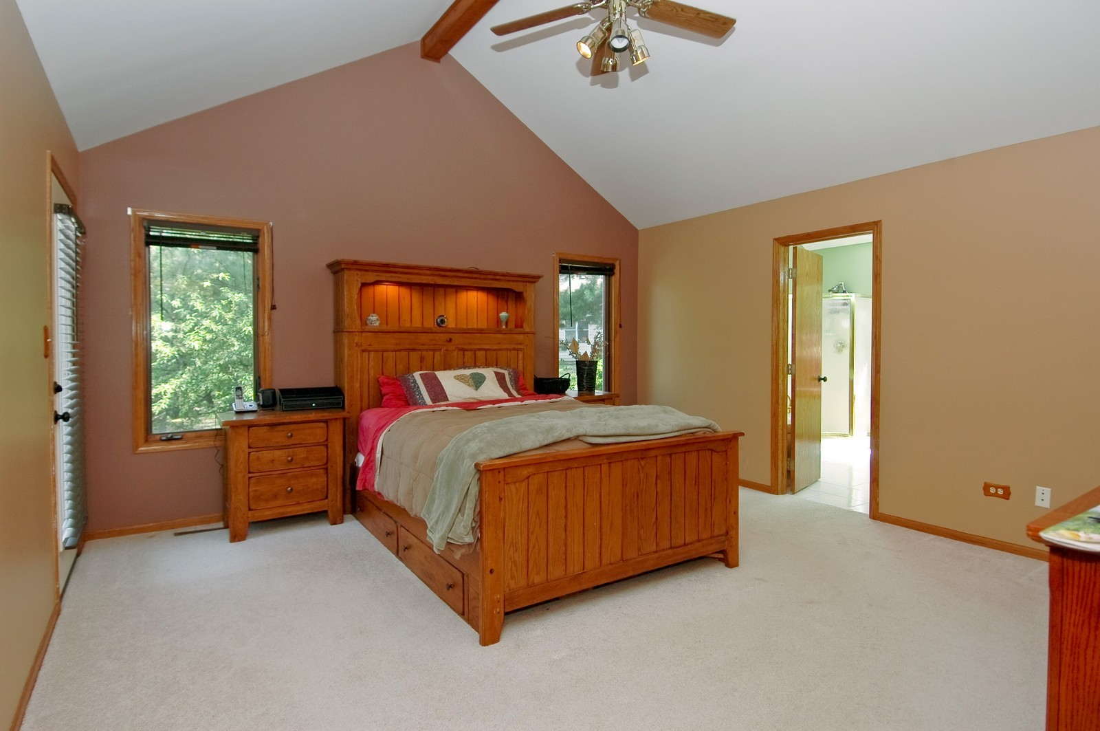 Real Estate Photography - 4915 Raintree Court, Johnsburg, IL, 60051 - Master Bedroom