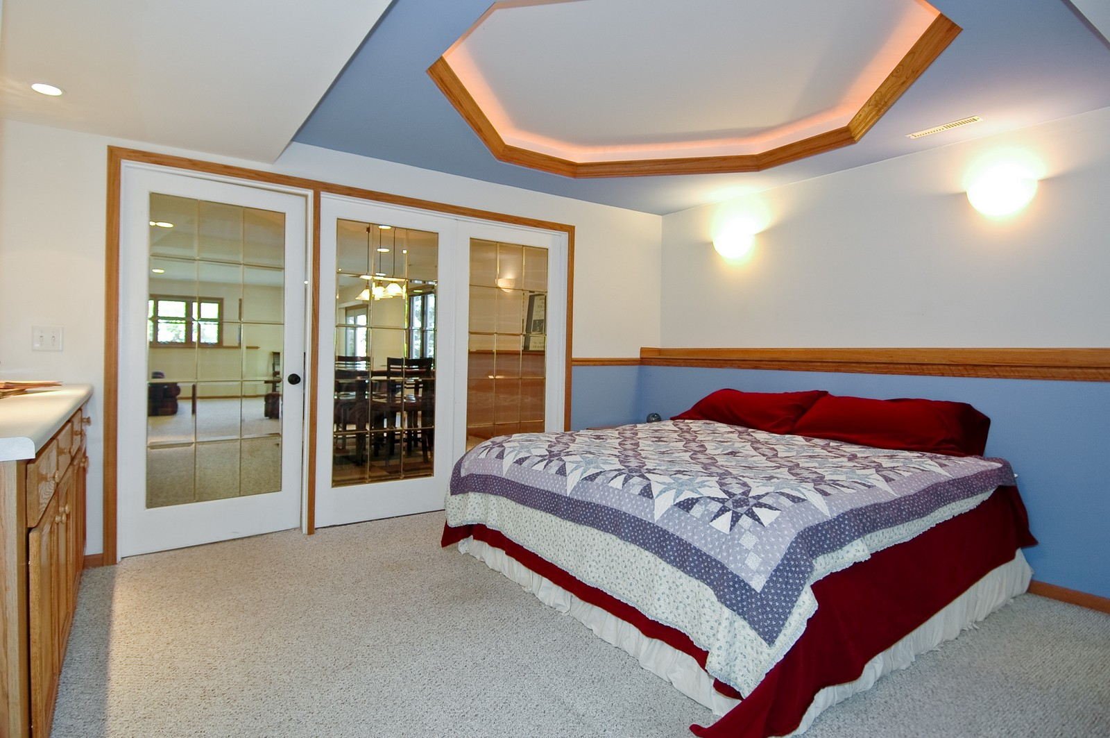 Real Estate Photography - 4915 Raintree Court, Johnsburg, IL, 60051 - Guest Bedroom