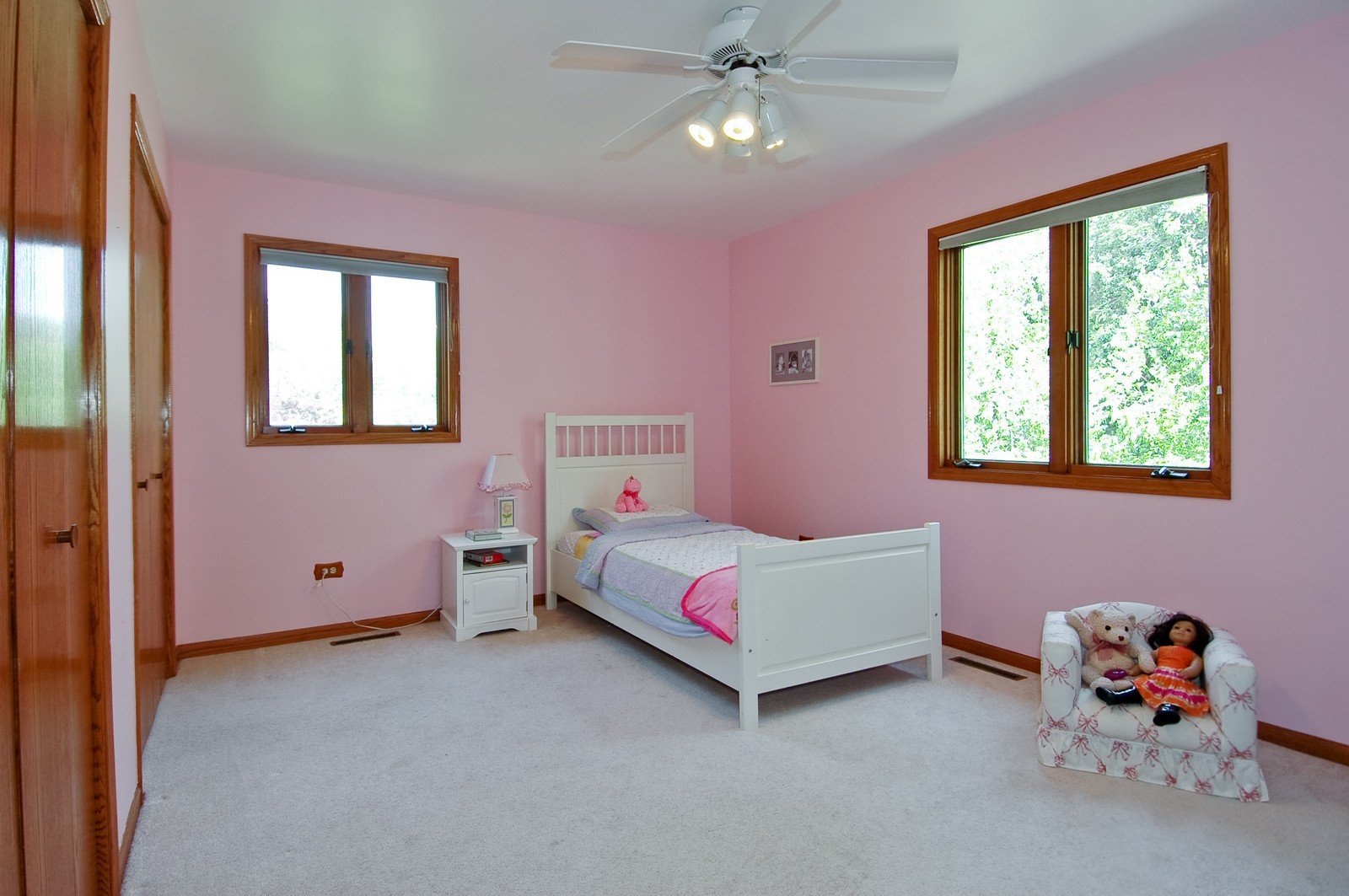 Real Estate Photography - 4915 Raintree Court, Johnsburg, IL, 60051 - 2nd Bedroom