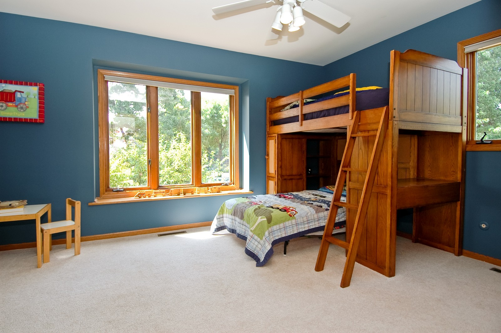 Real Estate Photography - 4915 Raintree Court, Johnsburg, IL, 60051 - 3rd Bedroom