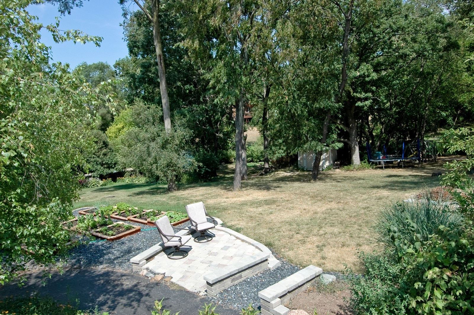 Real Estate Photography - 4915 Raintree Court, Johnsburg, IL, 60051 - Back Yard