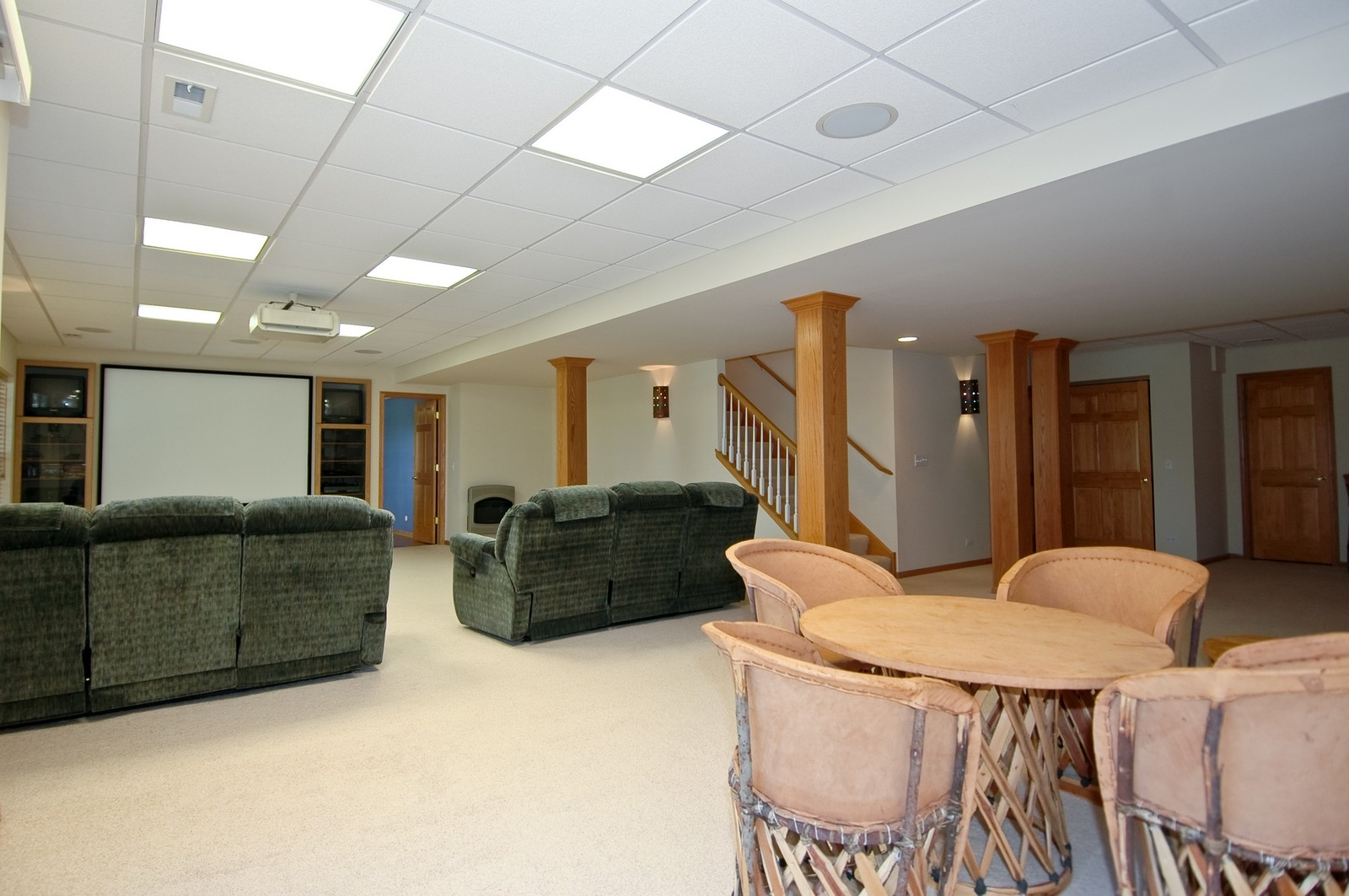 Real Estate Photography - 750 Saratoga Circle, Algonquin, IL, 60102 - Lower Level