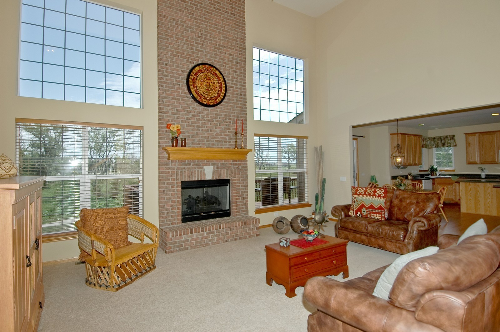 Real Estate Photography - 750 Saratoga Circle, Algonquin, IL, 60102 - Family Room