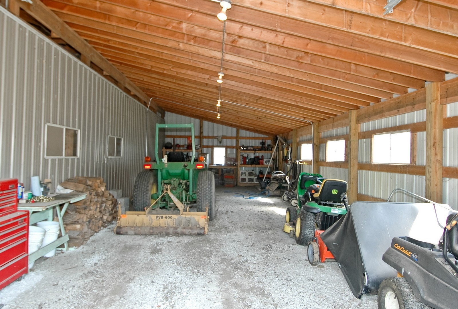 Real Estate Photography - 40W960 Chippewa Pass, Elgin, IL, 60124 - Barn w/ Additional Equipment Storage
