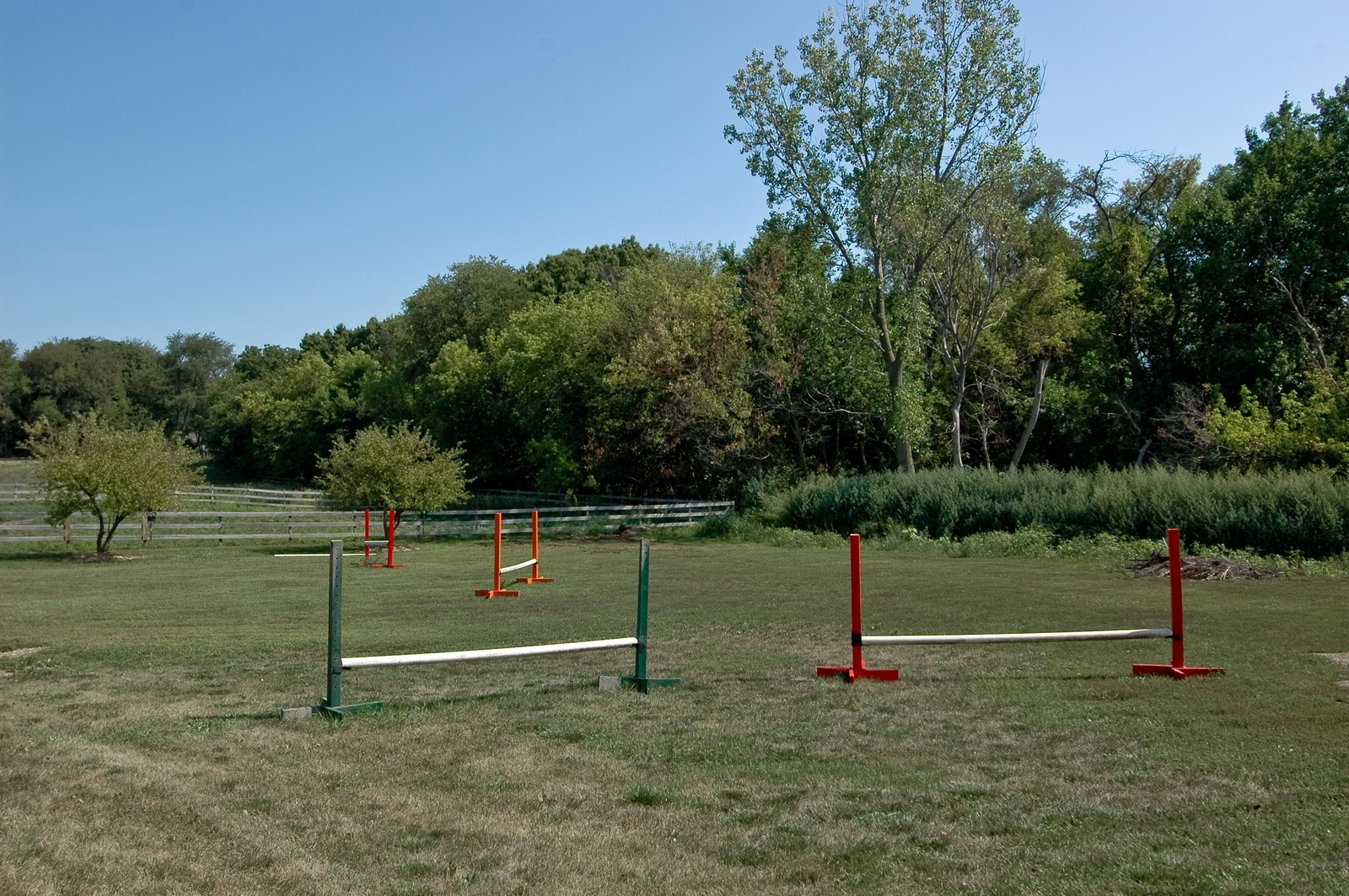 Real Estate Photography - 40W960 Chippewa Pass, Elgin, IL, 60124 - Cross Country Course with Jumps