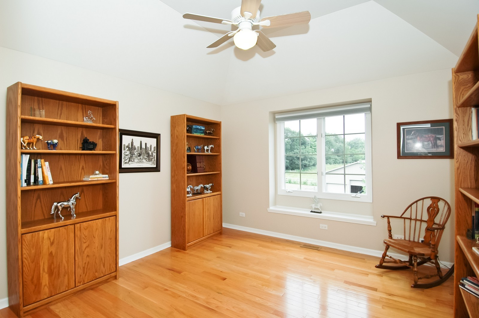 Real Estate Photography - 40W960 Chippewa Pass, Elgin, IL, 60124 - 4th Bedroom with Tray Ceiling