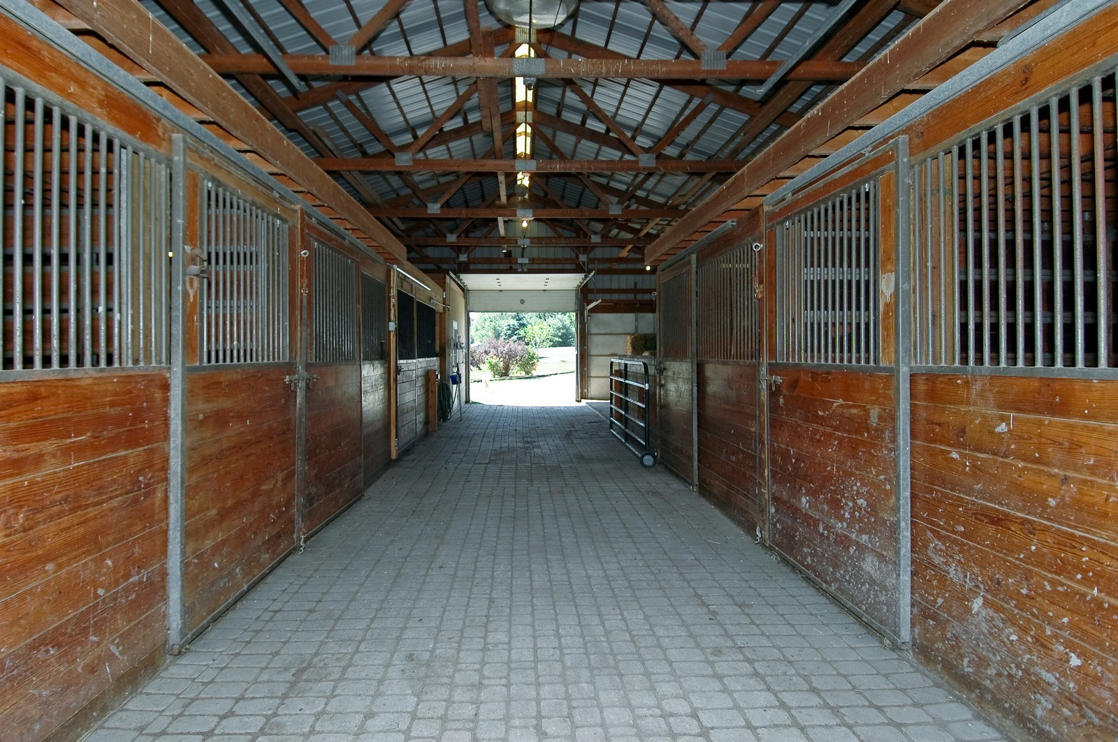 Real Estate Photography - 40W960 Chippewa Pass, Elgin, IL, 60124 - Horse Stall / Stables