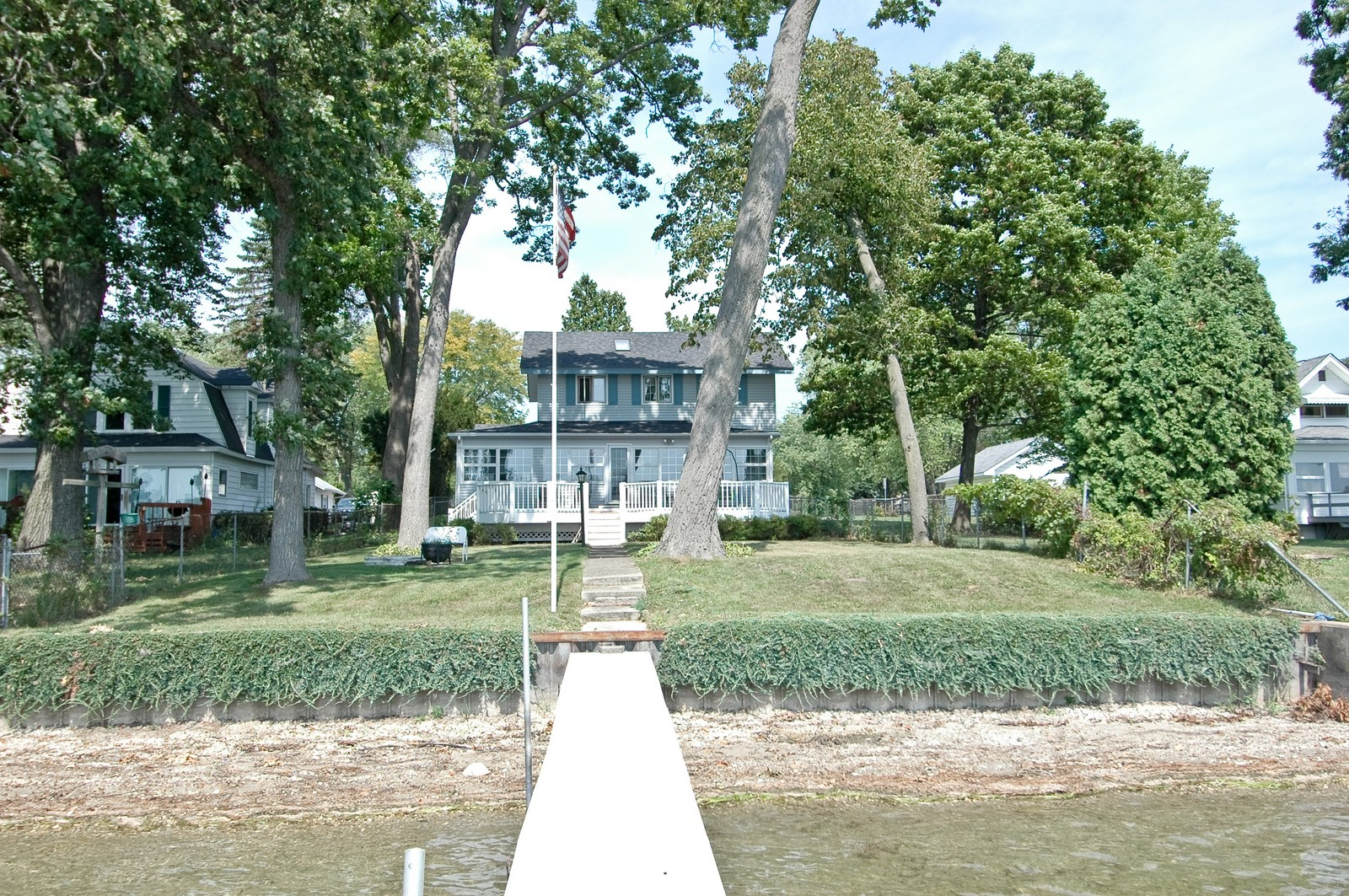 Real Estate Photography - 1099 North Shore Drive, Crystal Lake, IL, 60014 - Rear View