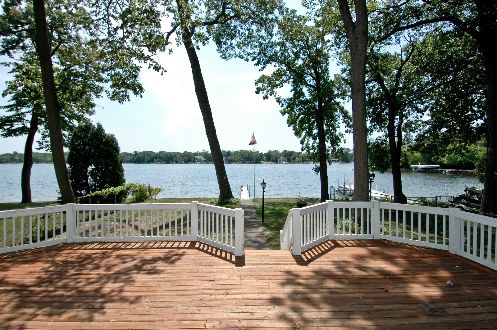 Real Estate Photography - 1099 North Shore Drive, Crystal Lake, IL, 60014 - Deck