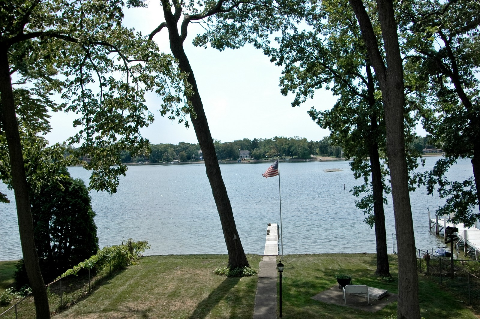 Real Estate Photography - 1099 North Shore Drive, Crystal Lake, IL, 60014 - Lake View