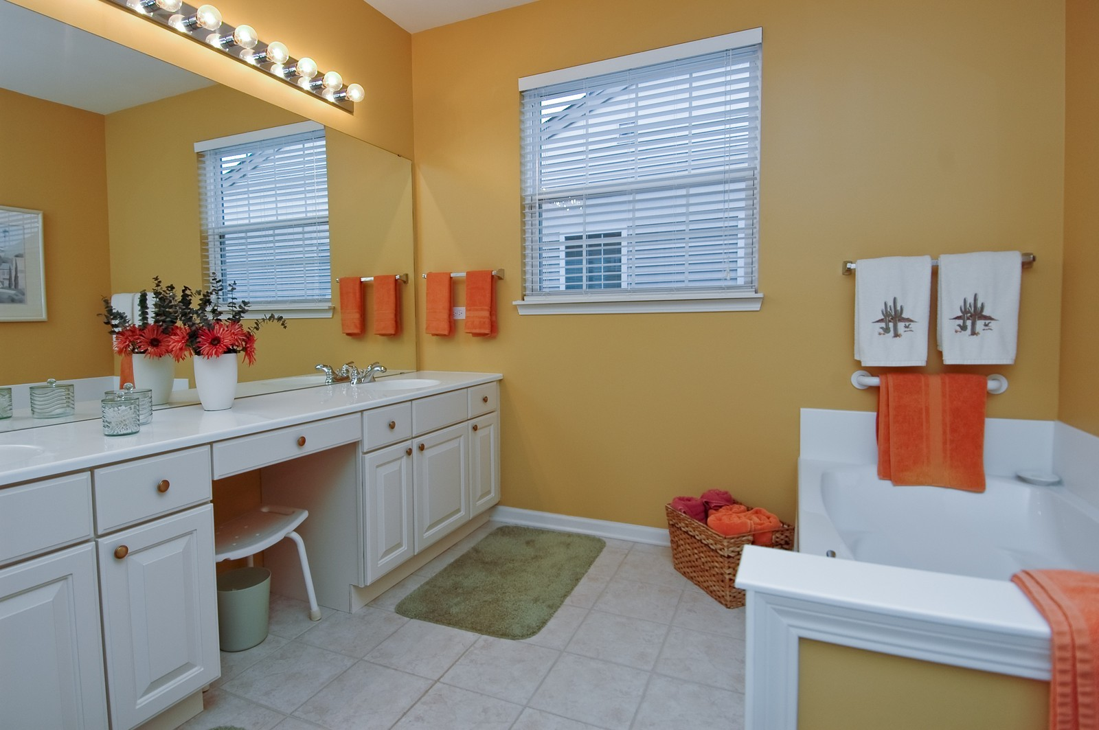 Real Estate Photography - 14063 Francesca Cove, Huntley, IL, 60142 - Master Bathroom
