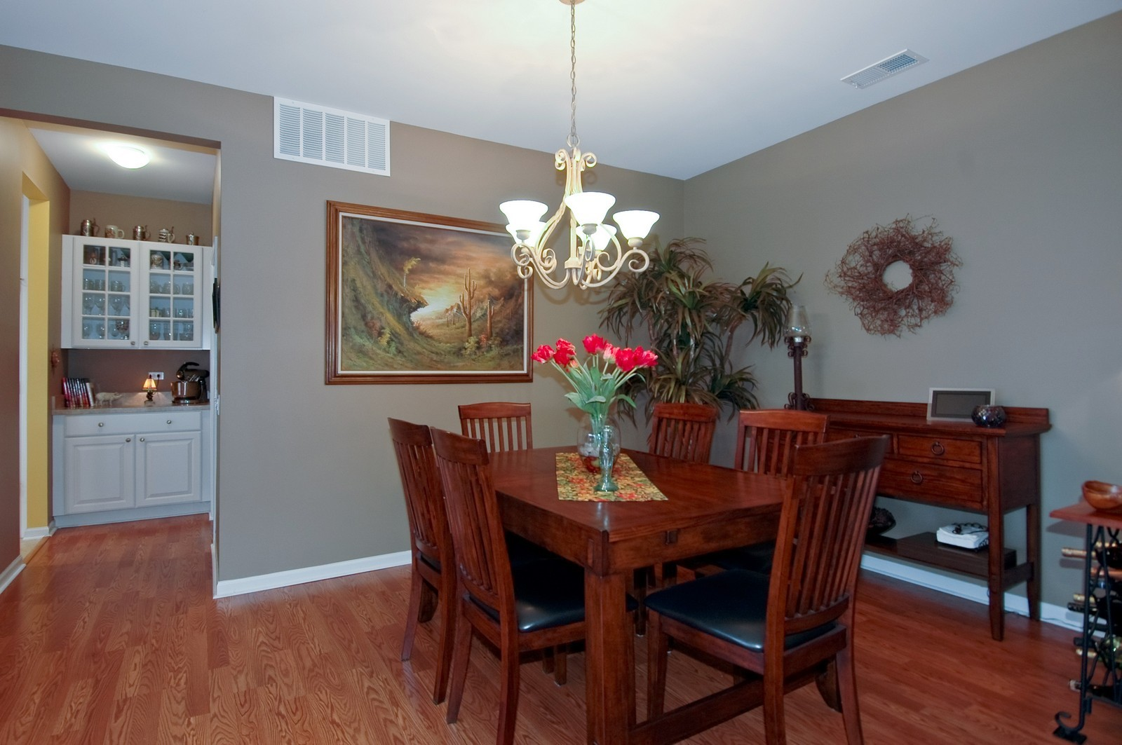 Real Estate Photography - 14063 Francesca Cove, Huntley, IL, 60142 - Dining Room