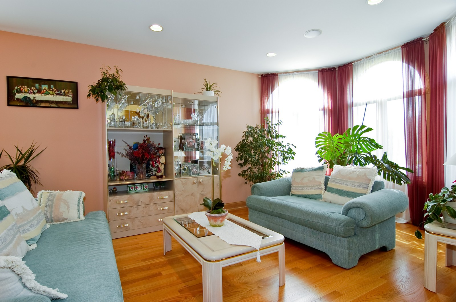 Real Estate Photography - 457 Ellis, Bensenville, IL, 60106 - Living Room